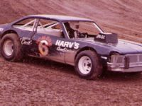 AL HUMPHREY ON TRACK AT MIDWEST SPEEDWAY
